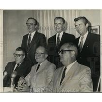 1969 Press Photo Port of New Orleans - Officers of the Dock Board
