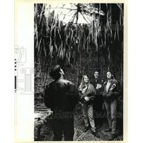 1995 Press Photo Ponchatoula High School Students at LA Science and Nature Cente