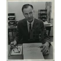 1967 Press Photo Alabama-Richard Arthur, Alabama Aeronautics Department.