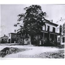 1863 Press Photo Milwaukee Infirmary - First Milwaukee Hospital - mjb19712