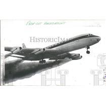 1969 Press Photo Douglas Aircraft's First DC8 Jet Plane - RRY18681