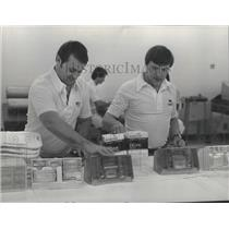 1977 Press Photo Seahawks football trainers, Bruce Scott & Jim Whitesel