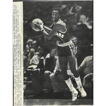 1975 Press Photo Golden State Warriors basketball player, Gus Williams