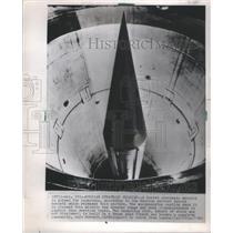1966 Press Photo Soviet strategic missile Novosti Pine- RSA14083