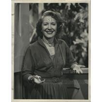 1953 Press Photo Gracie Allen, TV Magazine, Top Shows - ney29057