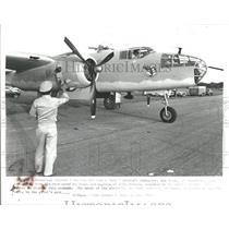 1982 Press Photo Dunnellon Airport Sun Air Show Bob Dug- RSA05797