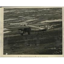 1930 Press Photo The Woolaroc Plane in the Air - ney28900
