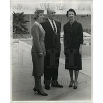 1960 Press Photo Delta Air Lines, Inc. - Anniversary of Stewardess Service
