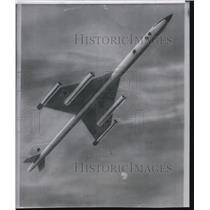1956 Press Photo A sketch of the Soviet nuclear-powered bomber - spw12195