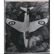 1951 Press Photo Britain's new Hawker Super Jet named P-1067 - spw12196