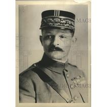 1915 Press Photo Paris France General Maxine Weygand Chief of Staff of Army