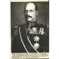1940 Press Photo King Haakon of Norway - mjb24826