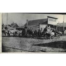 1896 Press Photo Street scene in Marcus, Washington - spb16159