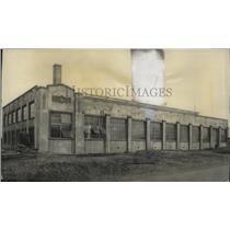 1929 Press Photo Highway Department Garage - spb16674