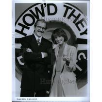 1992 Press Photo TV Hosts Pat O'Brien & Dorothy Lucey - RRX57879