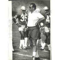 1979 Press Photo Seattle Seahawks coach Jack Patera - sps15729
