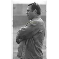 1978 Press Photo NFL coach Jack Patera of the Seattle Seahawks - sps15733