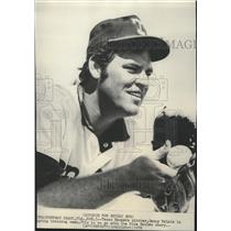 1972 Press Photo Texas Rangers Pitcher Denny McLain At Spring Training Camp