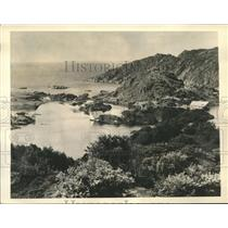 1940 Press Photo Entrance to the Jossingfjord where British cornered Nazi Ship