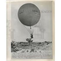 1959 Press Photo Two Pennsylvania men try to break records with hot-air balloon