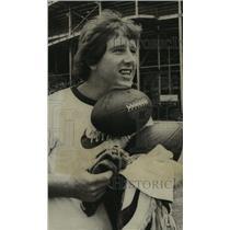 1974 Press Photo New Orleans Saints star quarterback, Archie Manning
