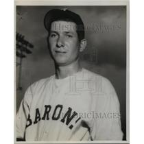 1944 Press Photo Alabama-Birmingham-Bob Ferguson Baron's baseball player.