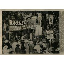 1936 Press Photo Democratic National Convention - RRU98525
