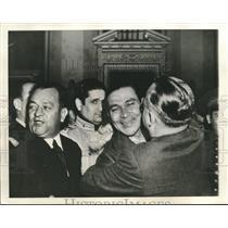 1941 Press Photo Cuban president Fulgencio Batista celebrates victory