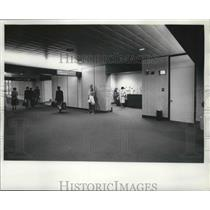 1978 Press Photo Sportservice's new concession stand at Mitchell Field Airport