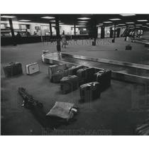 1978 Press Photo Expanded North Terminal at Milwaukee Mitchell Field Airport.