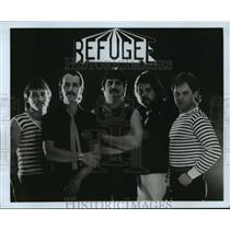 1983 Press Photo Refugee, band members - spp55778