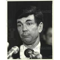 1982 Press Photo Chairman of the Civil Aeronautics Board, Dan McKinnen