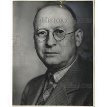 1936 Press Photo T. Murray Reed, City Editor, Milwaukee Journal - mjb39390