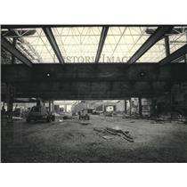 1983 Press Photo Framework for Expansion to the Mitchell Airport Terminal