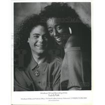 1993 Press Photo Tuck & Patti-Windham Hill Jazz Recording Artists - spp61161