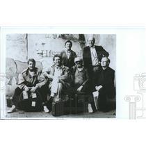 "1993 Press Photo Traditional Irish Band ""The Chieftains"" - spp62793"