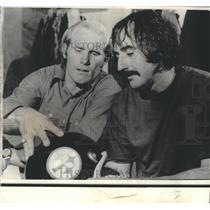 1974 Press Photo Pittsburgh Steelers QB Terry Bradshaw & QB Terry Hanratt
