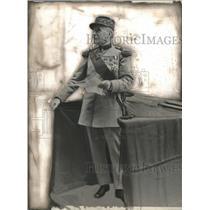 1928 Press Photo Marshal Foch in Nice, France - mjx37344