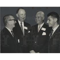 1967 Press Photo Alabama-Phillips High School coaches and lettermen at banquet.