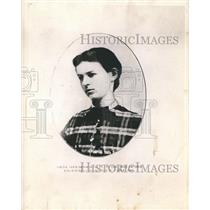 1869 Press Photo Louise Stewart Bartlett, Engaged to George W. Cable
