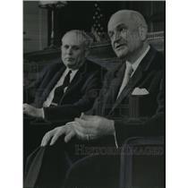 1958 Press Photo Alabama-Civil Rights Probers meet the press. - abna04083