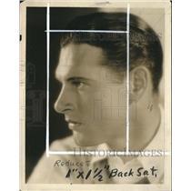 "1931 Press Photo Richard Arlen In "" Gun Smoke"" Playing At the Plaza Theatre"