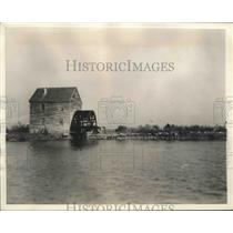 1929 Press Photo Tide Mill in Mathews County, Virginia - mjx37522