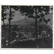 1942 Press Photo Panoramic View of Haiti - mjx37721