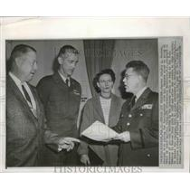 1958 Press Photo Master Sergeant Roy A. Rhodes, charged with spying for Russia