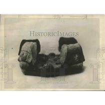 1923 Press Photo Sculpture Estimated at Around 5,000 Years Old, Mexico