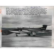 1958 Press Photo Blackburn CA 39 Bomber Britain's Newest Military Plane