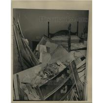 1963 Press Photo A.G. Gaston Hotel Damage After Bombing, Birmingham, Alabama