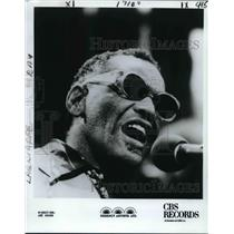 1983 Press Photo Rhythm & Blue Singer Ray Charles - nox10634
