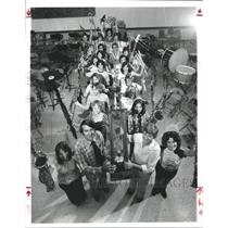 1979 Press Photo Band students of the Aldine High School, Texas - hca06535